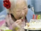 بالصورة.. احتفال أكبر معمرة في العالم بعيد ميلادها الـ116