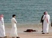 العثور على طفلة الجبيل متوفاه على شاطئ الفناتير