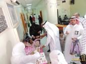 بالصور .. مدير مستشفى العيون يفتتح المعرض التوعوي الصحي للرضاعة الطبيعية