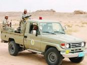 حرس الحدود يحبط دخول 636 قطعة سلاح و 21 ألف متسلل