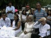 معمران في بارغواي يتزوجان بعد علاقة حب دامت 80 سنة