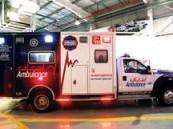 """لون سيارات """"إسعاف دبي""""يحدد درجة خطورة المريض"""