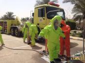 """بالصور.. """"فَرَضية"""" تسرب كيميائي تستنفر 11 جهة حكومية في الرياض"""