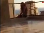 فيديو: لبناني يصور لحظة انتحار زوجته من الطابق الثامن ليحمي نفسه