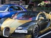 سيارة ثري سعودي تثير ضجة فى بريطانيا