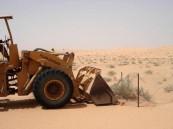 القصيم: إزالة تعدي على أراضٍ حكومية بمساحة 4 مليون م2