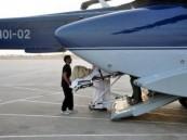 طيران الأمن ينقل مريضين من منطقتي الشرقية والقصيم إلى الرياض