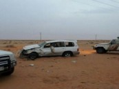 حائل .. إصابة ثلاث شقيقات في حادثة سيارة كانت تقودها إحداهن