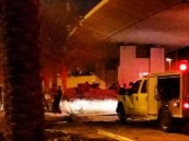 سقوط سيارة من أعلى مخرج 4 بالرياض ووفاة قائدها