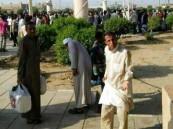 الأمن يسيطر على شغب 8000 مخالف جنوب السعودية