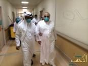 بالصور … وزير الصحة بالنيابة: اتعهد لكم بالشفافية والافصاح