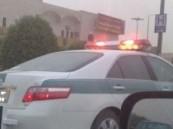 عسكري يفقد التحكم في محرك سيارته والمرور يوقفه