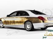 صور: كارلسون تزين مرسيدس S-Class بالذهب الخالص