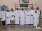 جمعية المعاقين تعايد مرضى مستشفى حسن العفالق