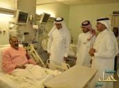 بالصور : جمعية السرطان ترسم البسمة على مرضى مستشفى الحرس بالأحساء