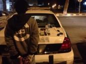 دوريات أمن الرياض توقع بلص فى ساعة متأخرة من الليل خلال دقائق