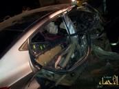 بالصور .. السرعة تتسبب بإصابة خمسة مراهقين في حادث مروع بالأحساء .