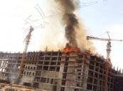 """بالصور… الآن """" ١:٠٥ ظهرا"""" حريق بمستشفى الملك فيصل الجامعي بالأحساء"""