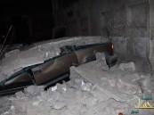 """بالصور … إنهيار منزل بـ""""نعاثل"""" الهفوف يجعل من """"4"""" سيارات حطام"""