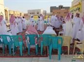 مسجد ابن القيم يقيم حفل معايدة لأهالي حي محاسن