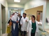 بالصور… الوفد السعودي في البرازيل يقوم بزيارة انسانية لمستشفى أروام سرطان الاطفال