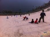 """فريق شباب سفاري """"الأحساء"""" في زيارة لبحيرة الأصفر برفقة مجموعة من الإعلاميين"""