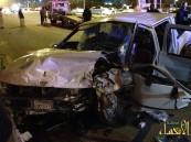 بالصور .. حادث كارثي يودي بحياة أمرأة و خمس إصابات حرجة بالأحساء