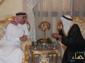 الأمير عبد العزيز بن محمد آل جلوي يستقبل المهنئين بعيد الفطر