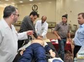 """مستشفى الإمام عبد الرحمن يدرب على """"الدعم المتقدم للحياة القلبية"""""""