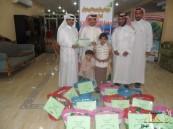 نادي موسمي للبنات يدعم مستفيدي خيرية العيون بسلالٍ رمضانية