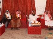 الأمير عبدالله بن سعد بن جلوي  يستقبل المهنئين بعيد الفطر