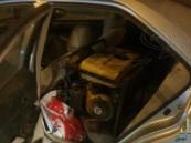 دوريات أمن الرياض تضبط ثلاثة لصوص سعوديين سرقوا مولد كهربائي شمال الرياض