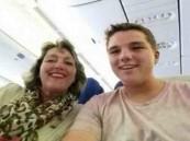 أخر سيلفي على متن الطائرة الماليزية المنكوبة