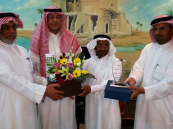 بالصور .. مستشفى الأمير سعود بن جلوي يحتفي بالسليم بعد خدمة (٤٠ عام)