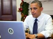 """""""هاكرز"""" سوريون يستهدفون حسابات أوباما على تويتر وفيسبوك"""