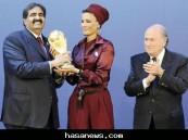 قطر تفوز بإستضافة كأس العالم 2022 م