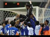 العتيبي ساهم في تأهل فريقه الهلال في كأس ولي العهد 2011