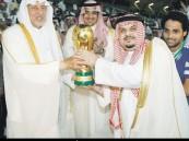 الهلال بطلا لكأس ولي العهد بخماسية على الوحدة – 2011