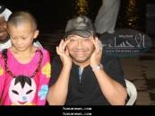"""الفنان الكويتي يقلد فتاة صينية في مهرجان صيف الأحساء """" حسانا فله """" 2011"""