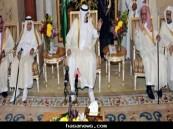 الملك عبدالله يستقبل المهنئين بعيد الأضحى المبارك 1432 هـ
