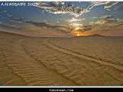 هذه الصورة التقطت في يوم الأثنين الموافق 13/12/1430هـ في أحد رمال أو صحراء الأحساء