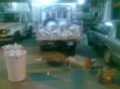 قوة المهمات بشرطة الرياض تضبط عصابتي تصنيع وترويج للخمور  .