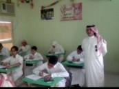 """"""" الأحساء نيوز"""" ترصد أول أيام الاختبارات النهائية للطلاب في مدارس الأحساء"""