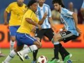 بهدف الأسطورة الصغير ميسي … الأرجنتين تكسب اللقاء الودي امام البرازيل
