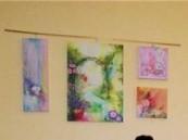 تمديد معرض الفنانة التشكيلية زهراء البناي