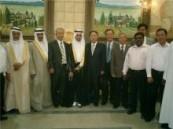 الحداد يحتفل بزواج ابنه عبدالجليل