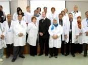 مستشفى الملك عبد العزيز في الأحساء يقيم ورشة عمل حول الحد من المخاطر الصحية .