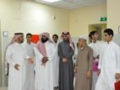 طلاب من  مدرسة الحليلة المتوسطة  يزورون مستشفى الملك فهد بالهفوف .