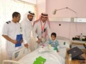 الجمعية السعودية للسرطان تزور مرضى مستشفى الملك فهد بالهفوف .