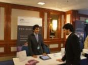 نجاح لافت لجناح غرفة الشرقية بملتقى التوظيف الثاني للمبتعثين السعوديين في لندن